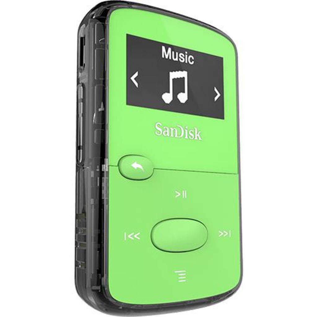 mp3 плеер SANDISK Sansa Clip JAM 8GB Green (SDMX26-008G-G46G) изображение 2