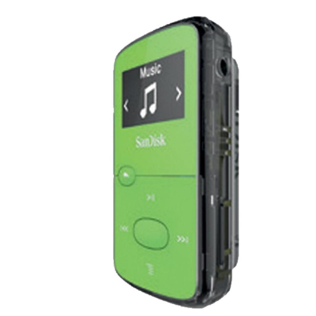 mp3 плеер SANDISK Sansa Clip JAM 8GB Green (SDMX26-008G-G46G) изображение 3