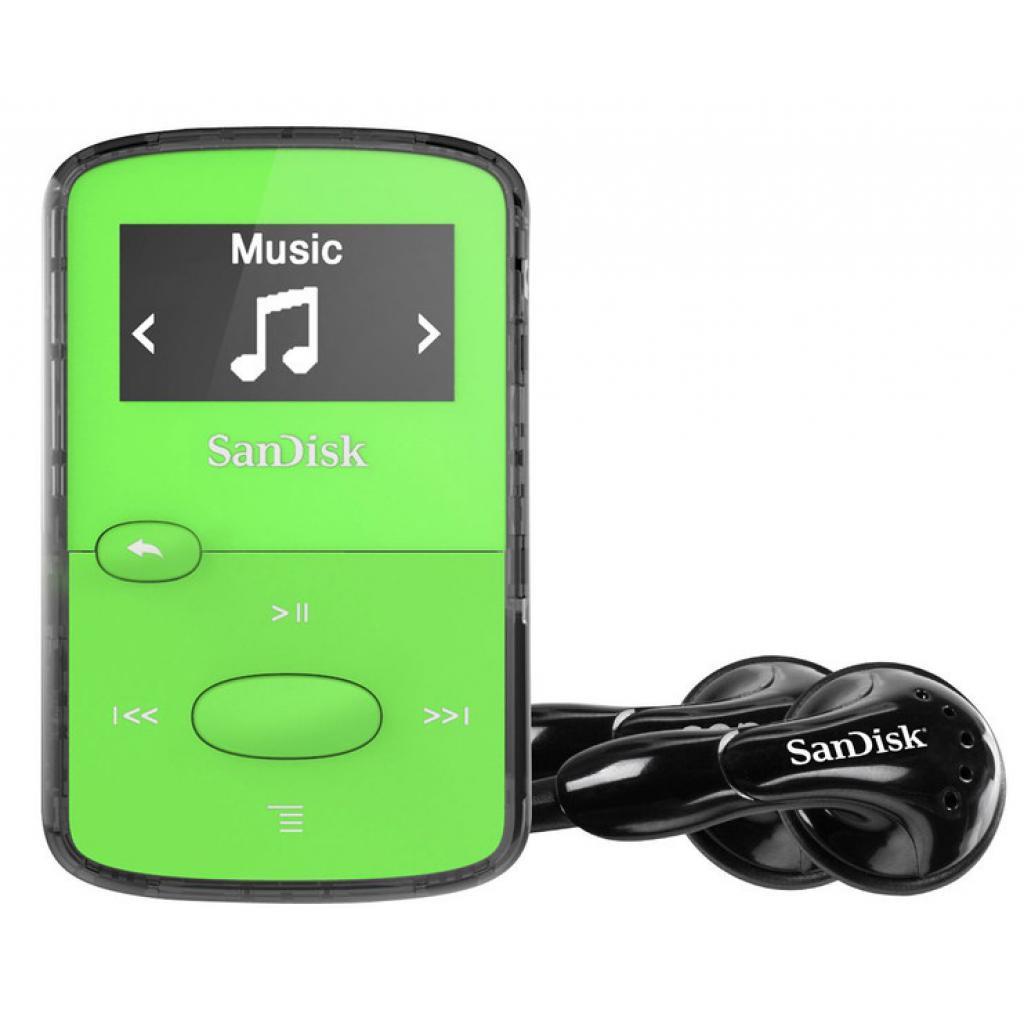 mp3 плеер SANDISK Sansa Clip JAM 8GB Green (SDMX26-008G-G46G) изображение 4