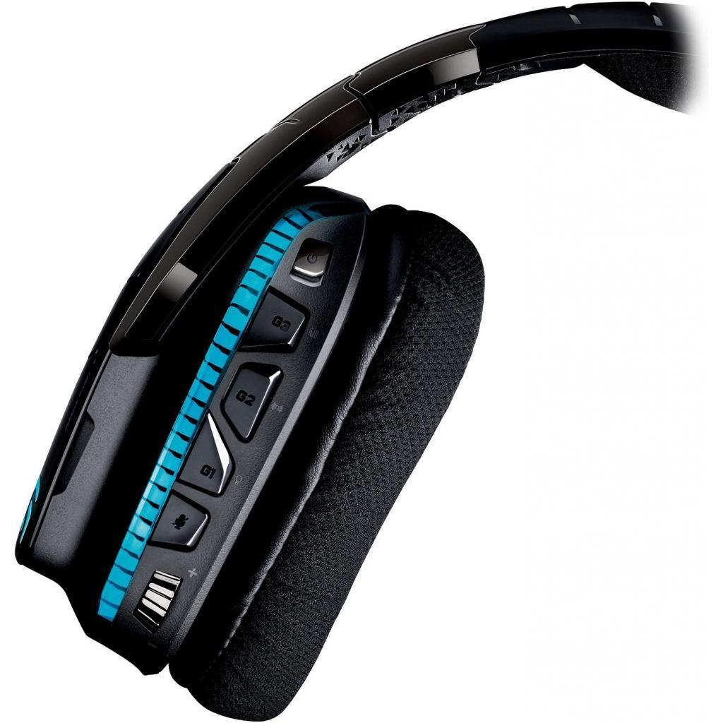 Наушники Logitech G933 Gaming Wireless (981-000599) изображение 3