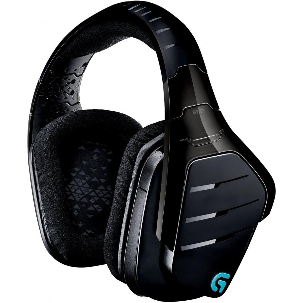Наушники Logitech G933 Gaming Wireless (981-000599) изображение 5
