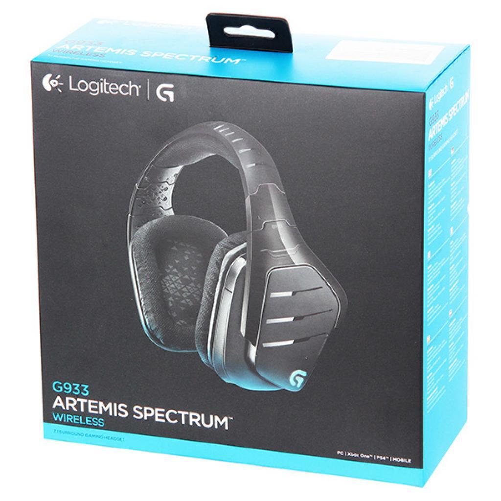 Наушники Logitech G933 Gaming Wireless (981-000599) изображение 7