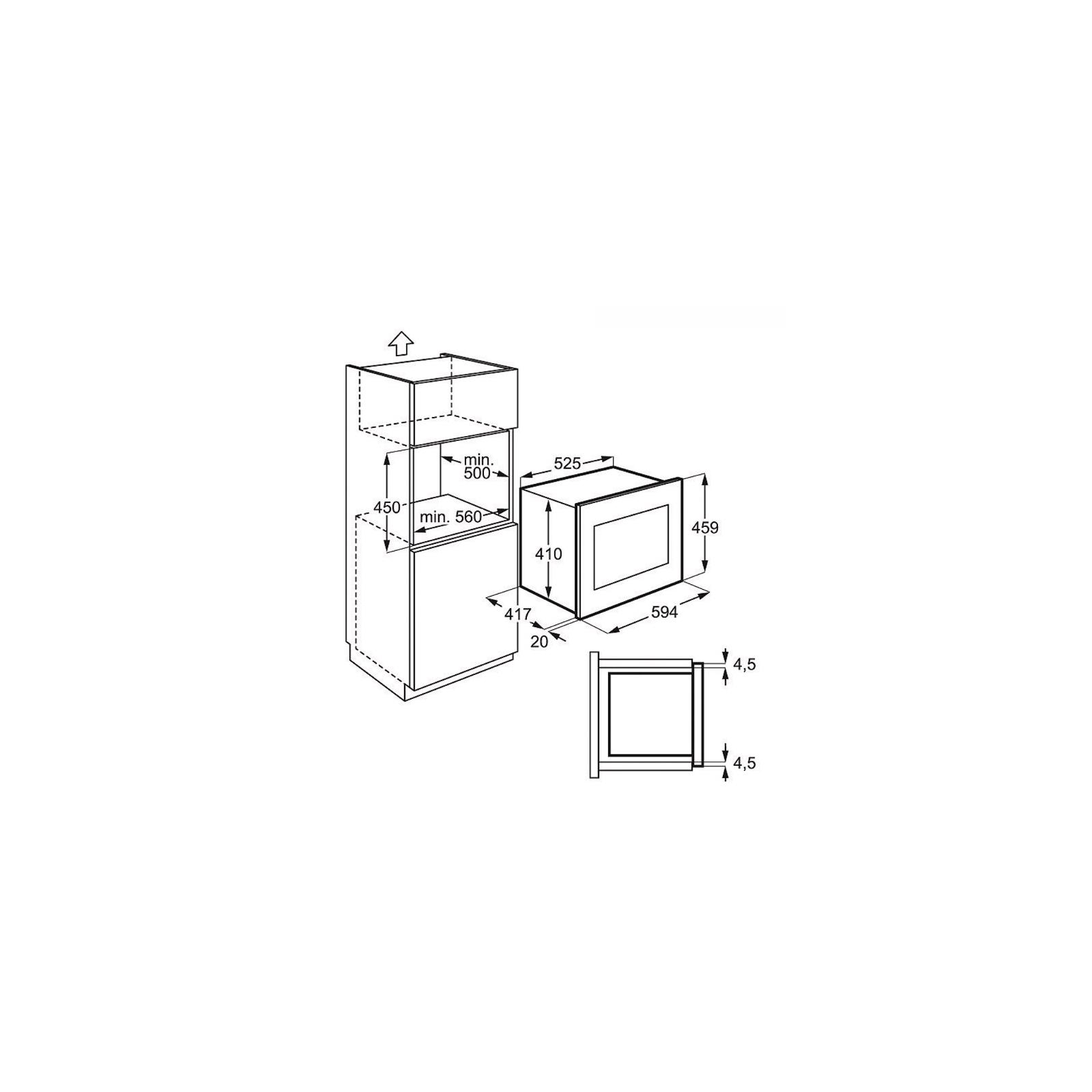 Микроволновая печь ELECTROLUX EMS 26204 OX (EMS26204OX) изображение 2