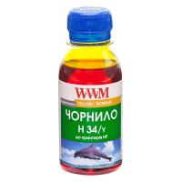 Чернила WWM HP № 22/134/136 100г Yellow (H34/Y-2)