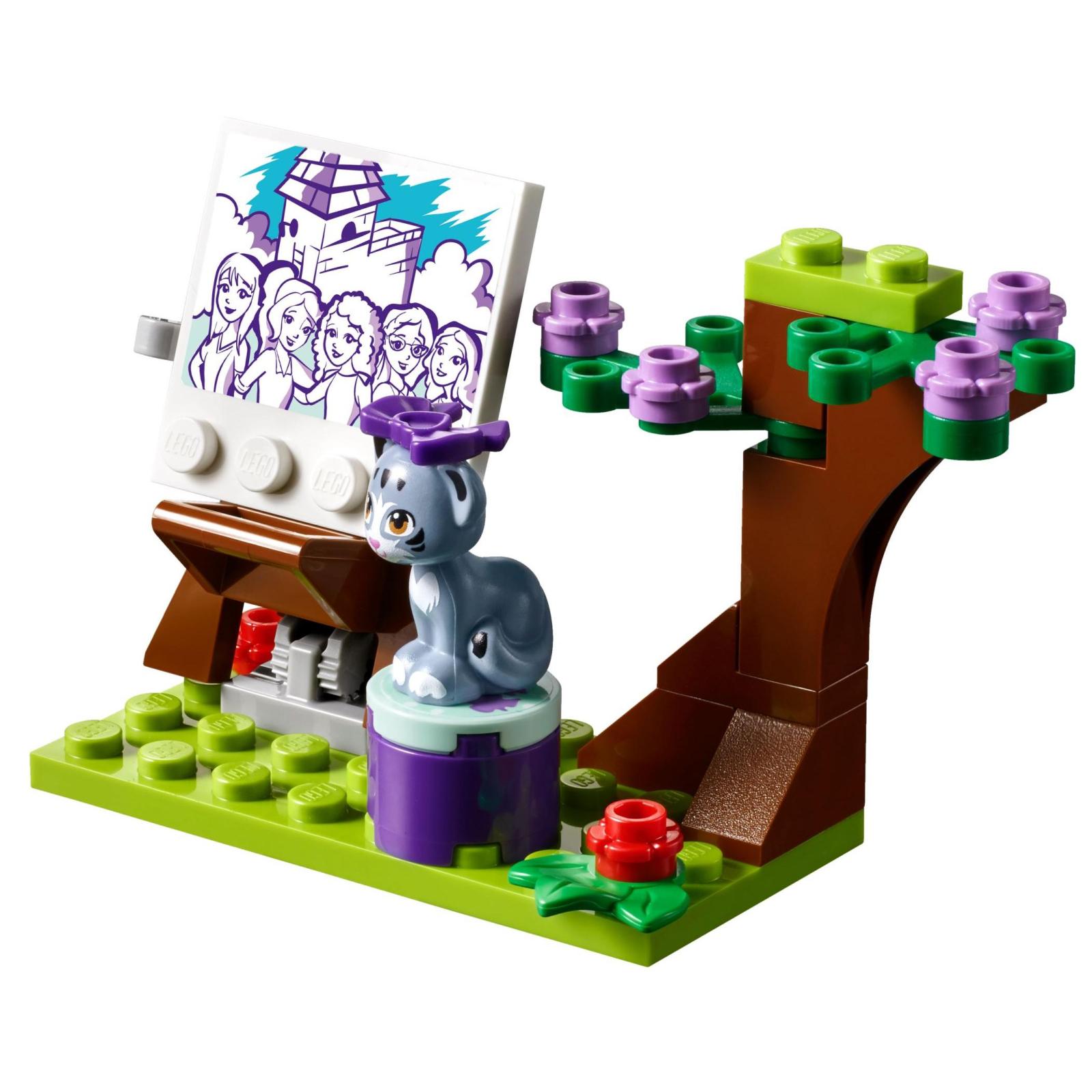 Конструктор LEGO Friends Мольберт Эммы (41332) изображение 3