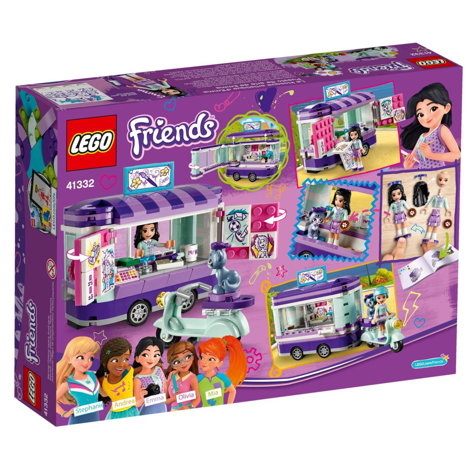 Конструктор LEGO Friends Мольберт Эммы (41332) изображение 9