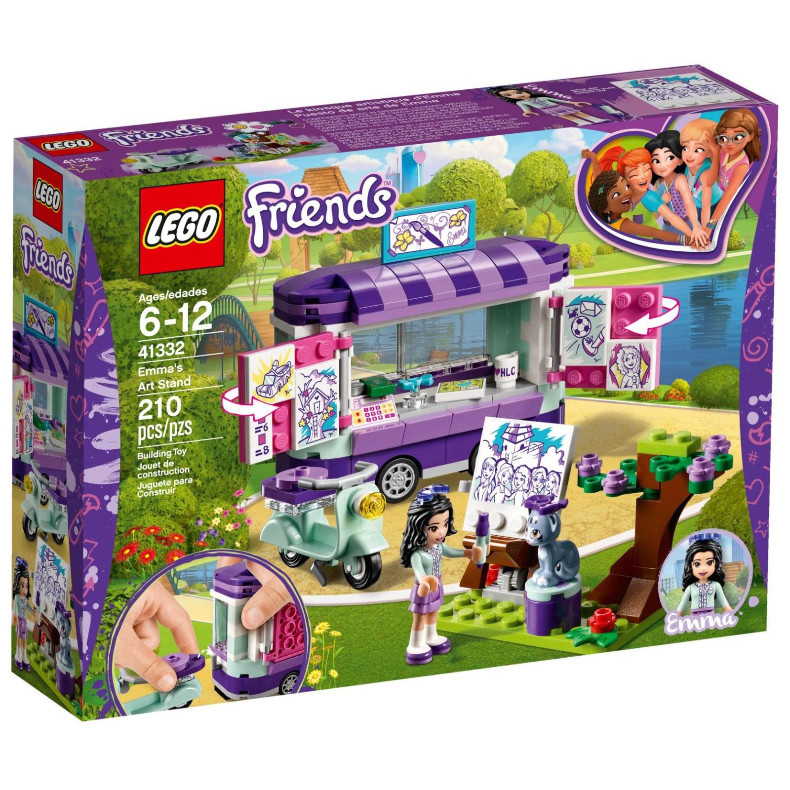 Конструктор LEGO Friends Мольберт Эммы (41332)