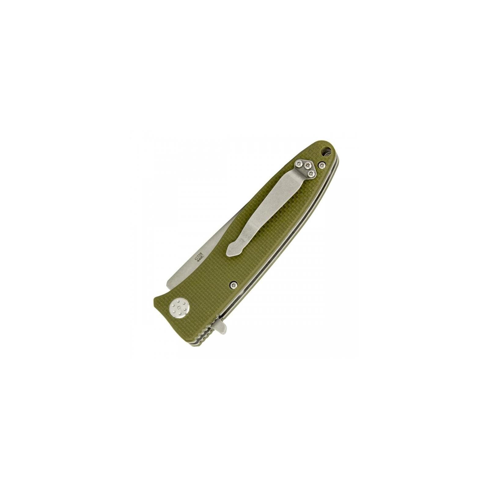 Нож Ganzo G728-OR, оранжевый (G728-OR) изображение 5