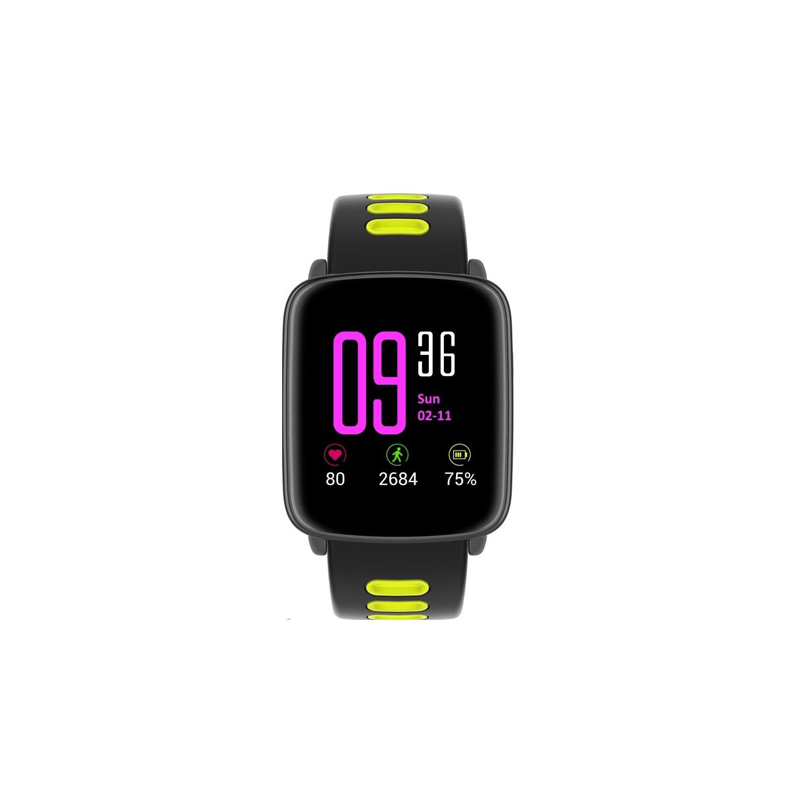Смарт-часы Nomi W20 Black-Yellow изображение 2