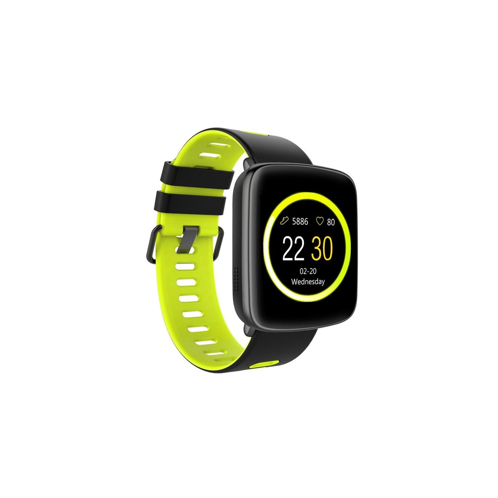 Смарт-часы Nomi W20 Black-Yellow изображение 4