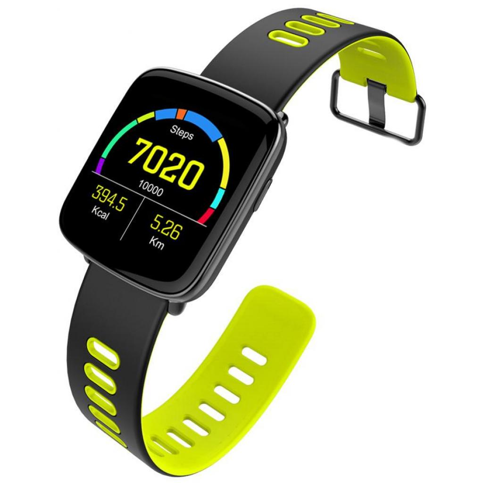 Смарт-часы Nomi W20 Black-Yellow изображение 7