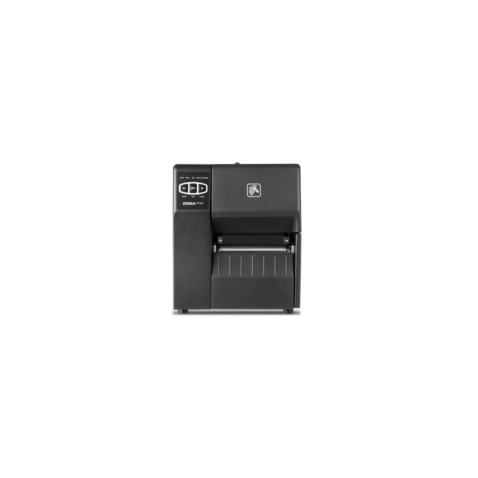 Принтер этикеток Zebra ZT220, 203dpi, Serial, USB, ethernet (ZT22042-T0E000FZ) изображение 2