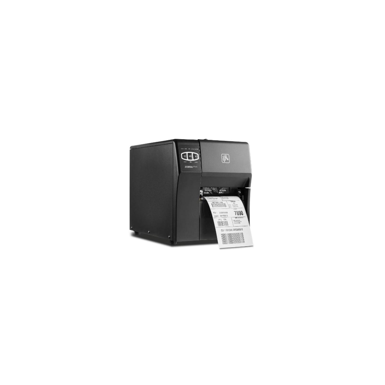 Принтер этикеток Zebra ZT220, 203dpi, Serial, USB, ethernet (ZT22042-T0E000FZ) изображение 3