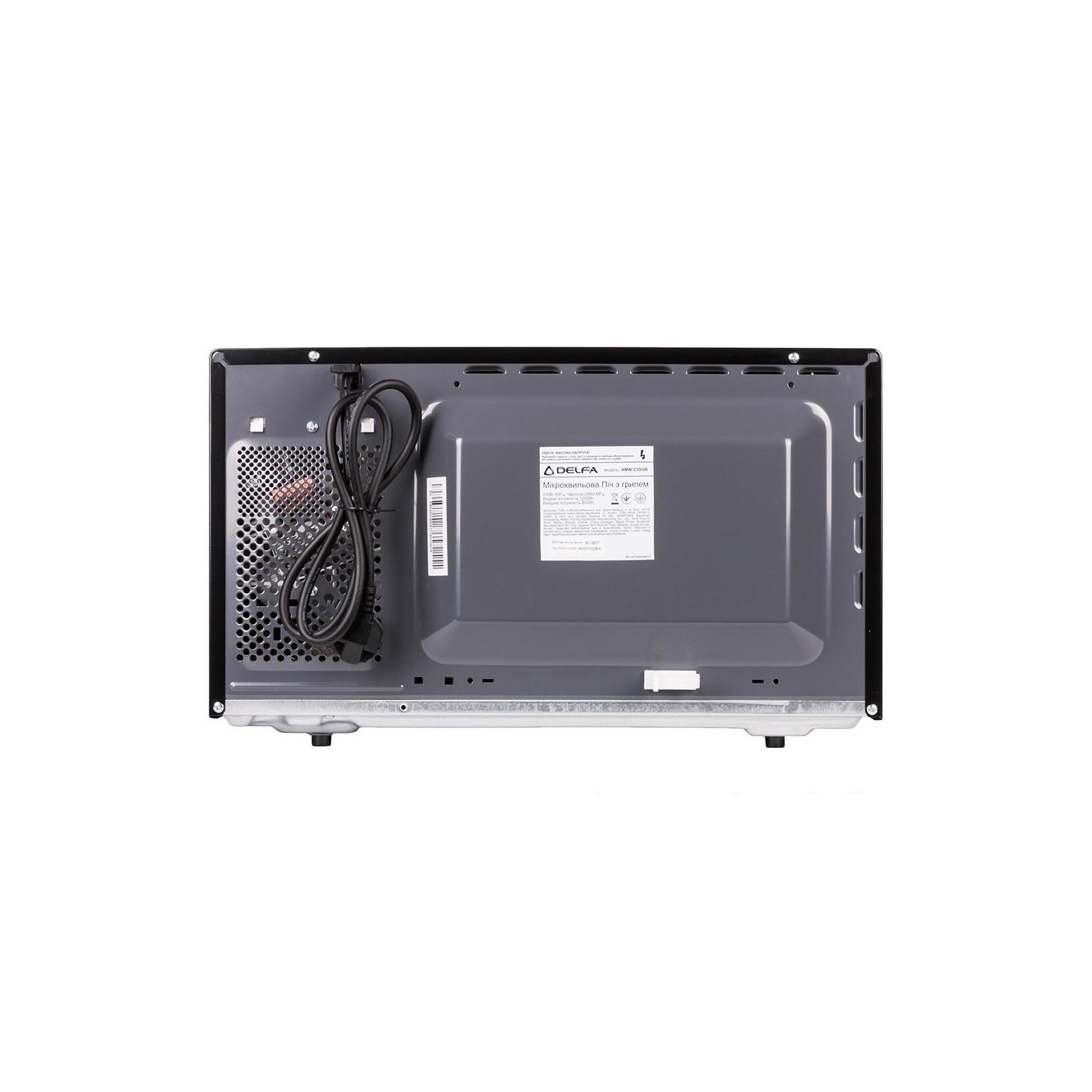 Микроволновая печь Delfa AMW-23DGB изображение 2