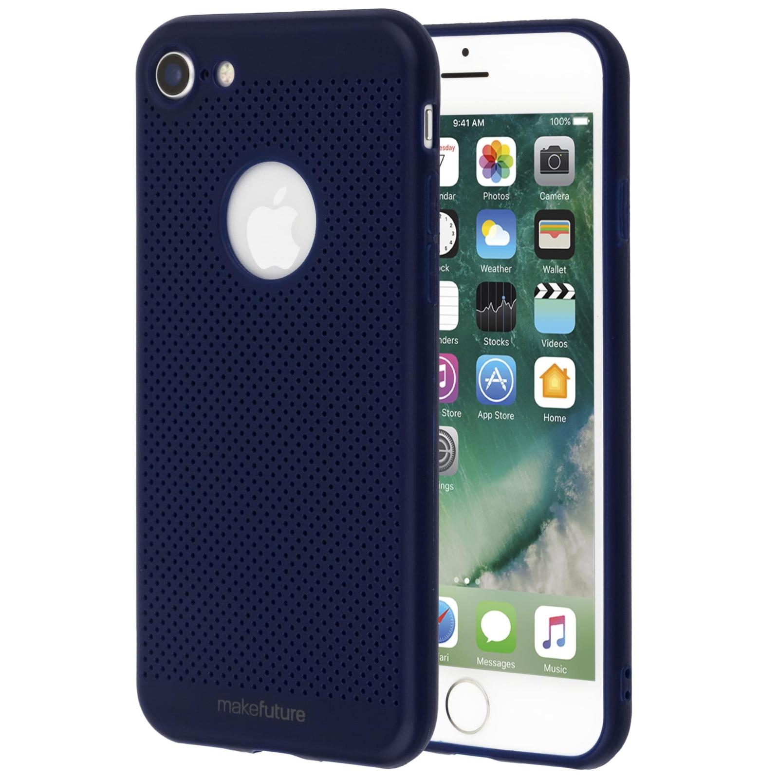 Чехол для моб. телефона MakeFuture Moon Case (TPU) для Apple iPhone 8 Blue (MCM-AI8BL) изображение 2
