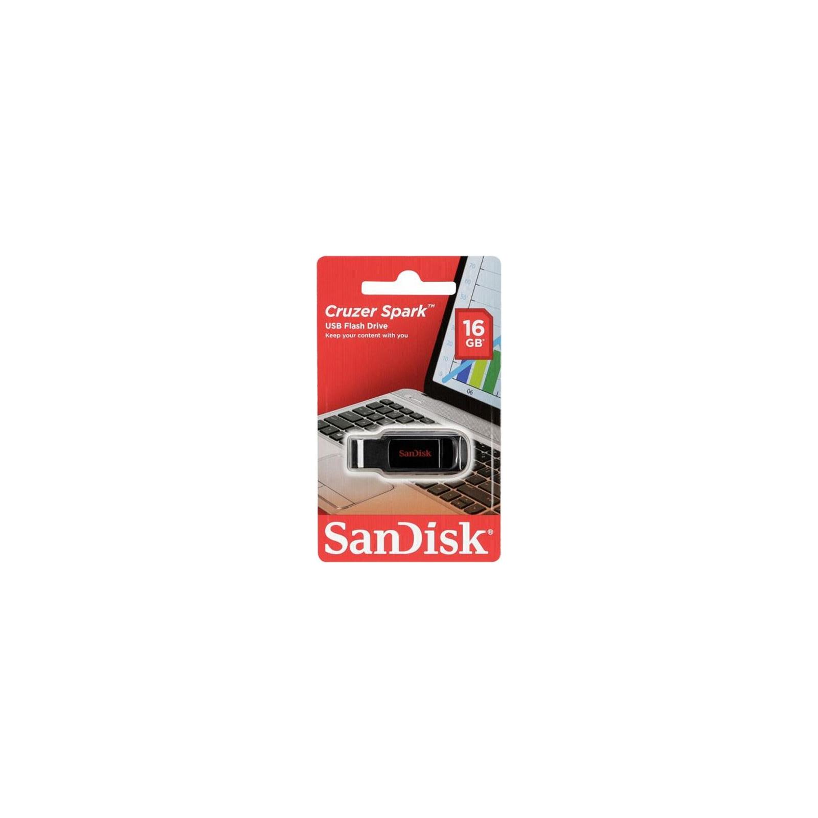 USB флеш накопитель SanDisk 16GB Cruzer Spark USB 2.0 (SDCZ61-016G-G35) изображение 7