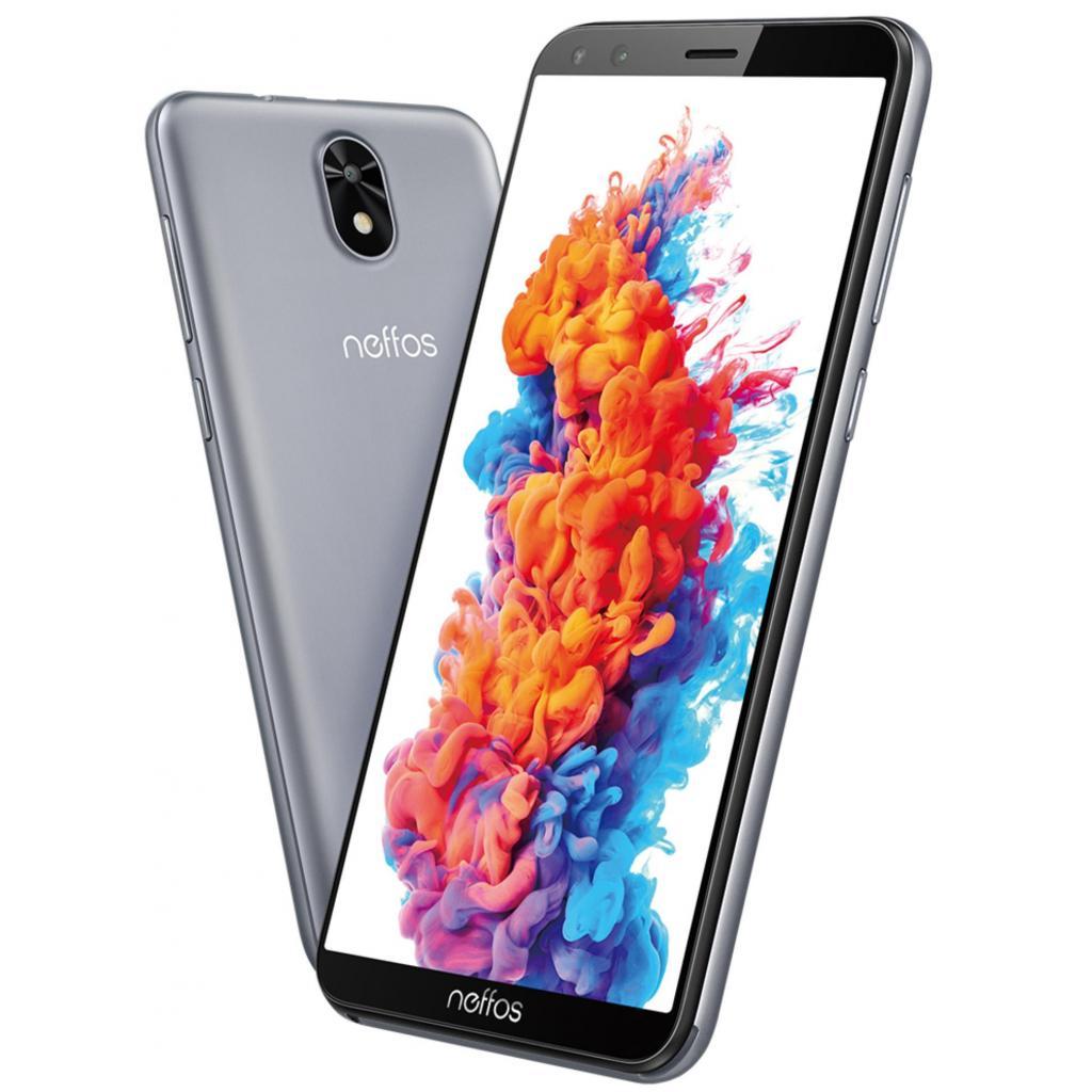 Мобільний телефон TP-Link Neffos C5 Plus 1/16GB Grey зображення 7