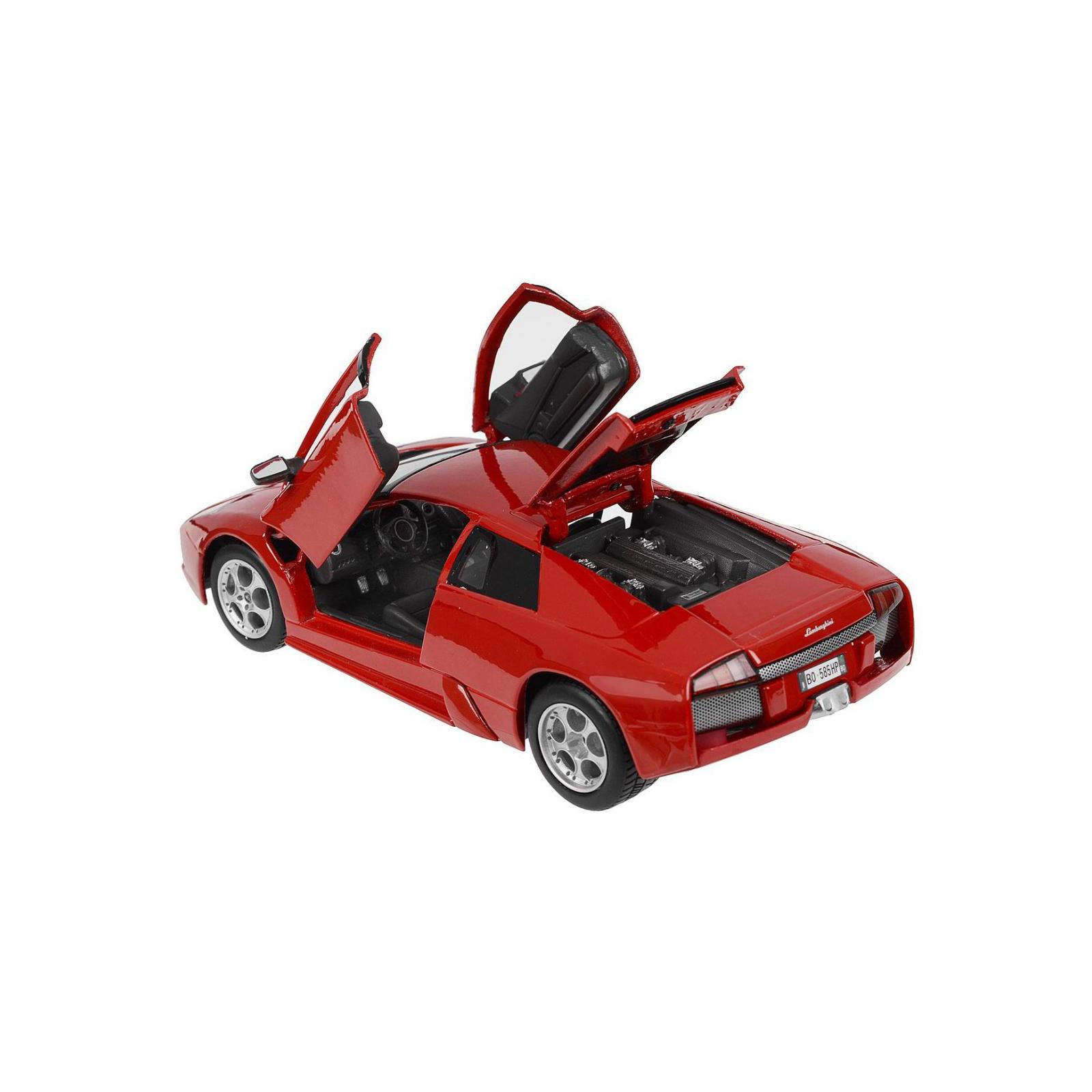 Машина Maisto Lamborghini Murcielago (1:24) красный металлик (31238 red) изображение 3