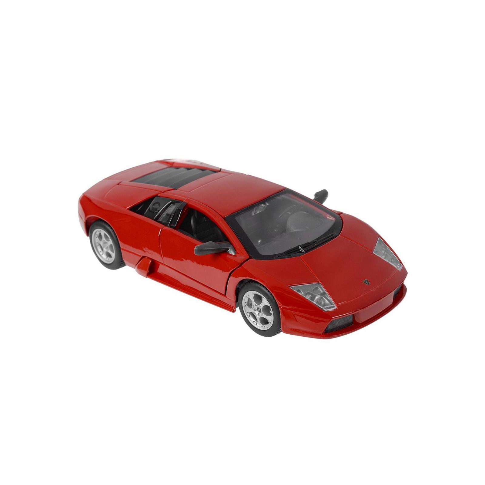 Машина Maisto Lamborghini Murcielago (1:24) красный металлик (31238 red) изображение 4