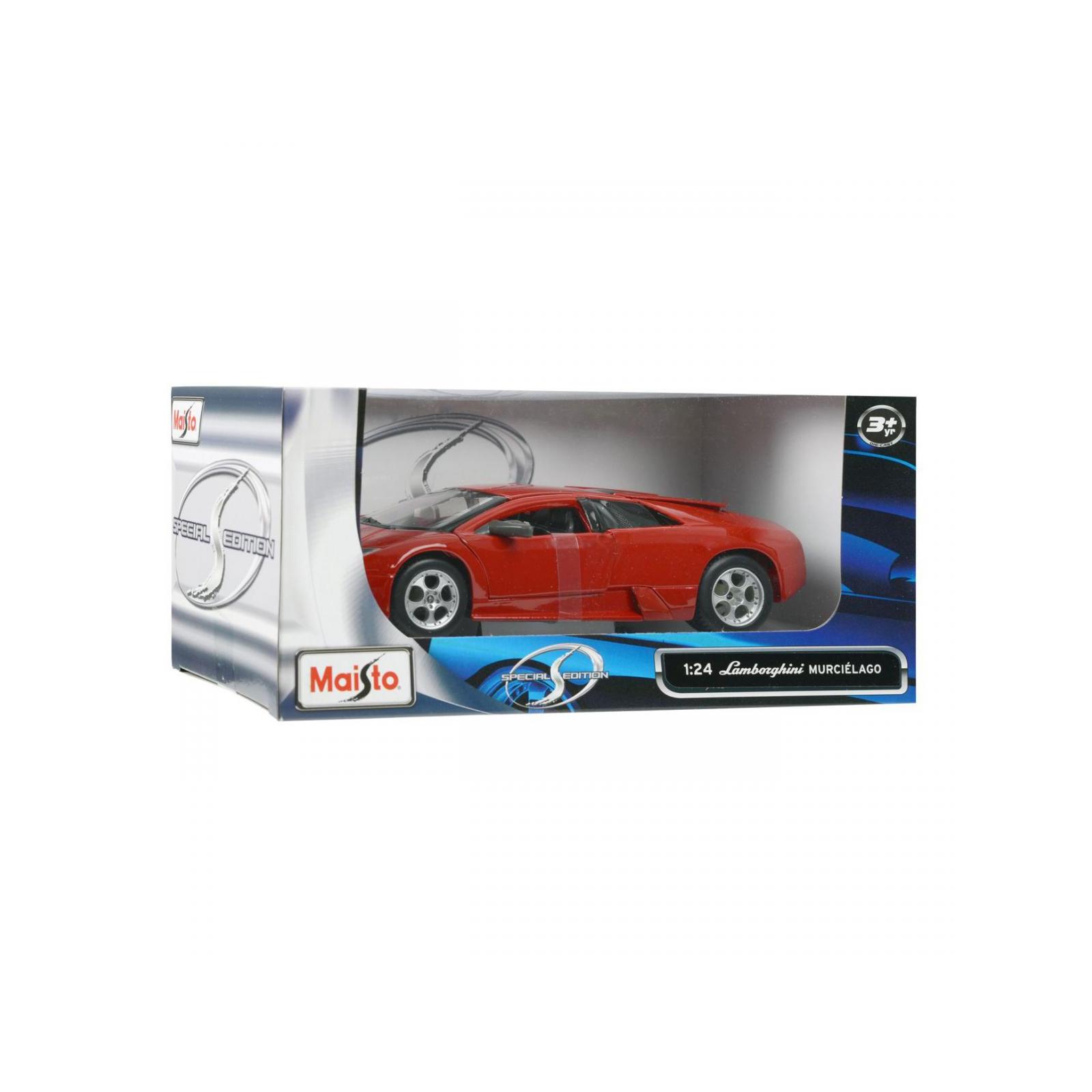 Машина Maisto Lamborghini Murcielago (1:24) красный металлик (31238 red) изображение 5