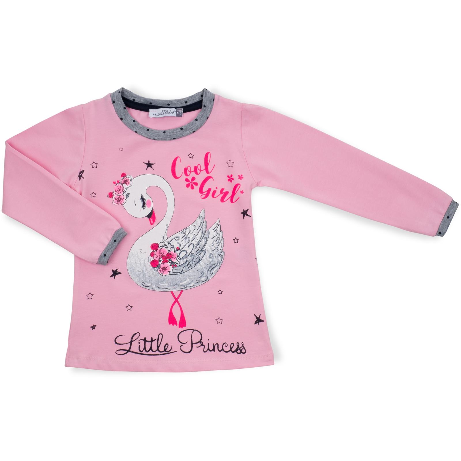 Пижама Matilda с лебедем (10939-2-92G-pink) изображение 2