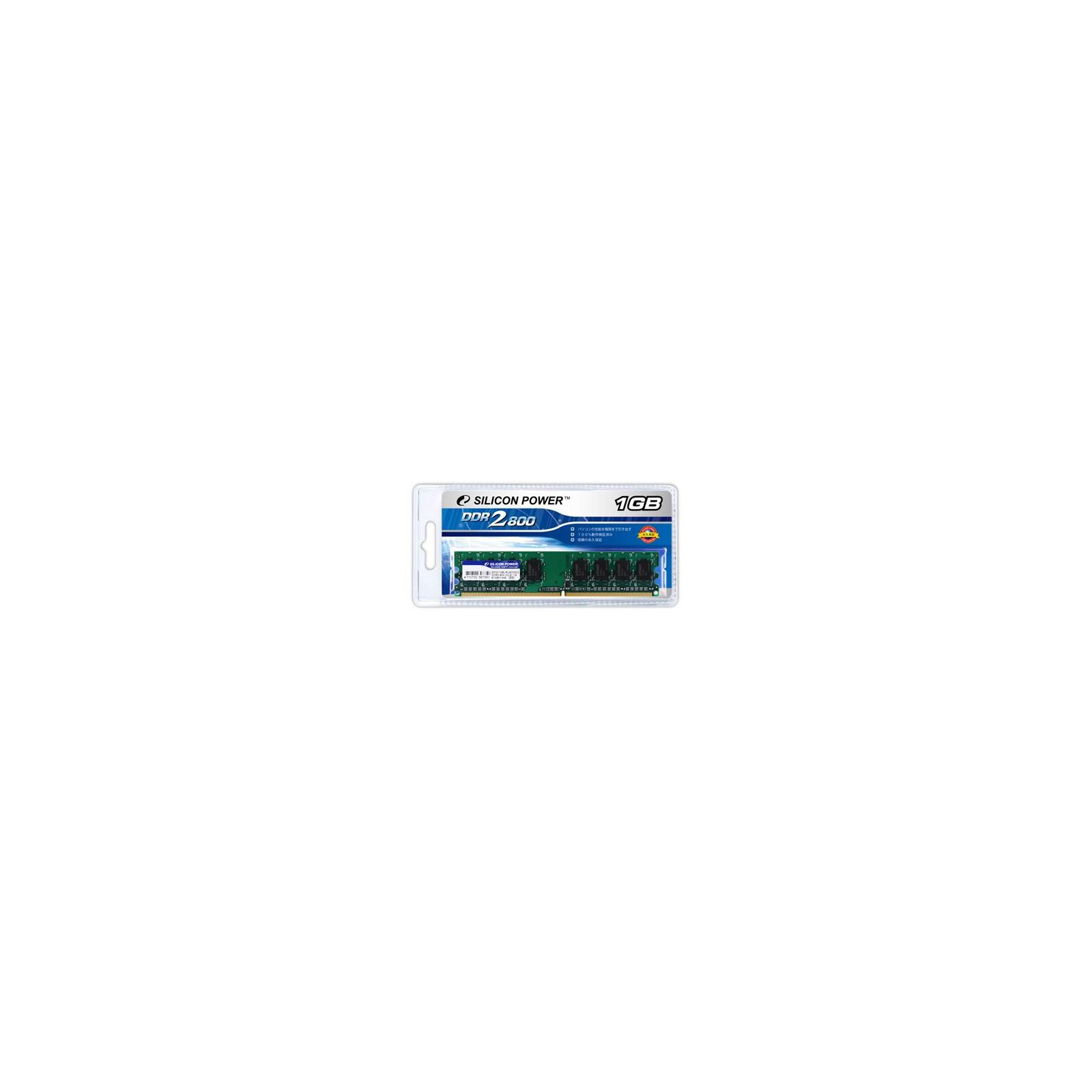 Модуль памяти для компьютера DDR2 1GB 800 MHz Silicon Power (SP001GBLRU800S02)