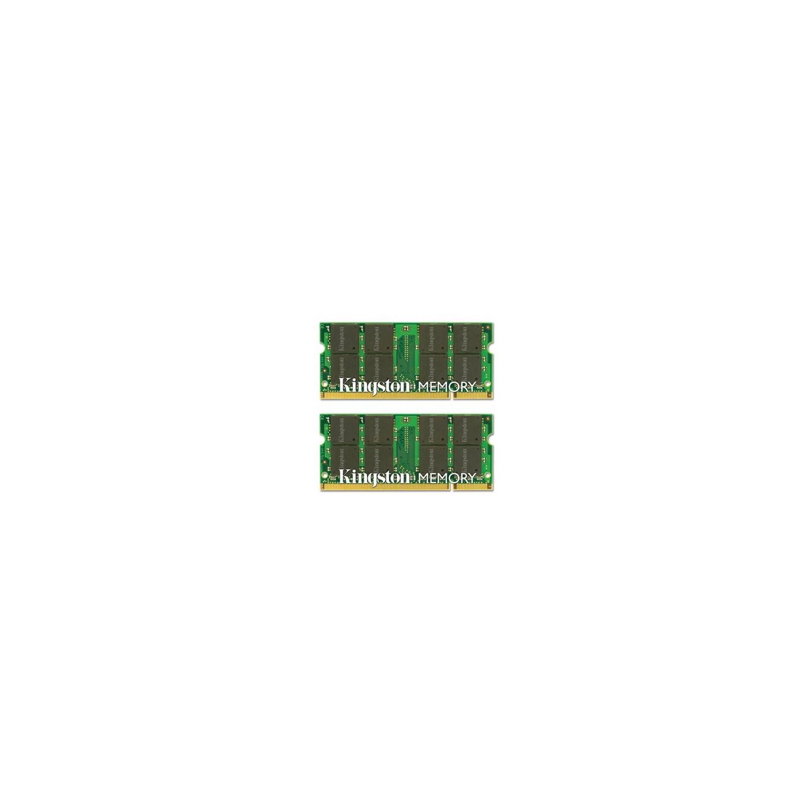 Модуль памяти для ноутбука SoDIMM DDR2 4GB (2x2GB) 667 MHz Kingston (KTA-MB667K2/4G)