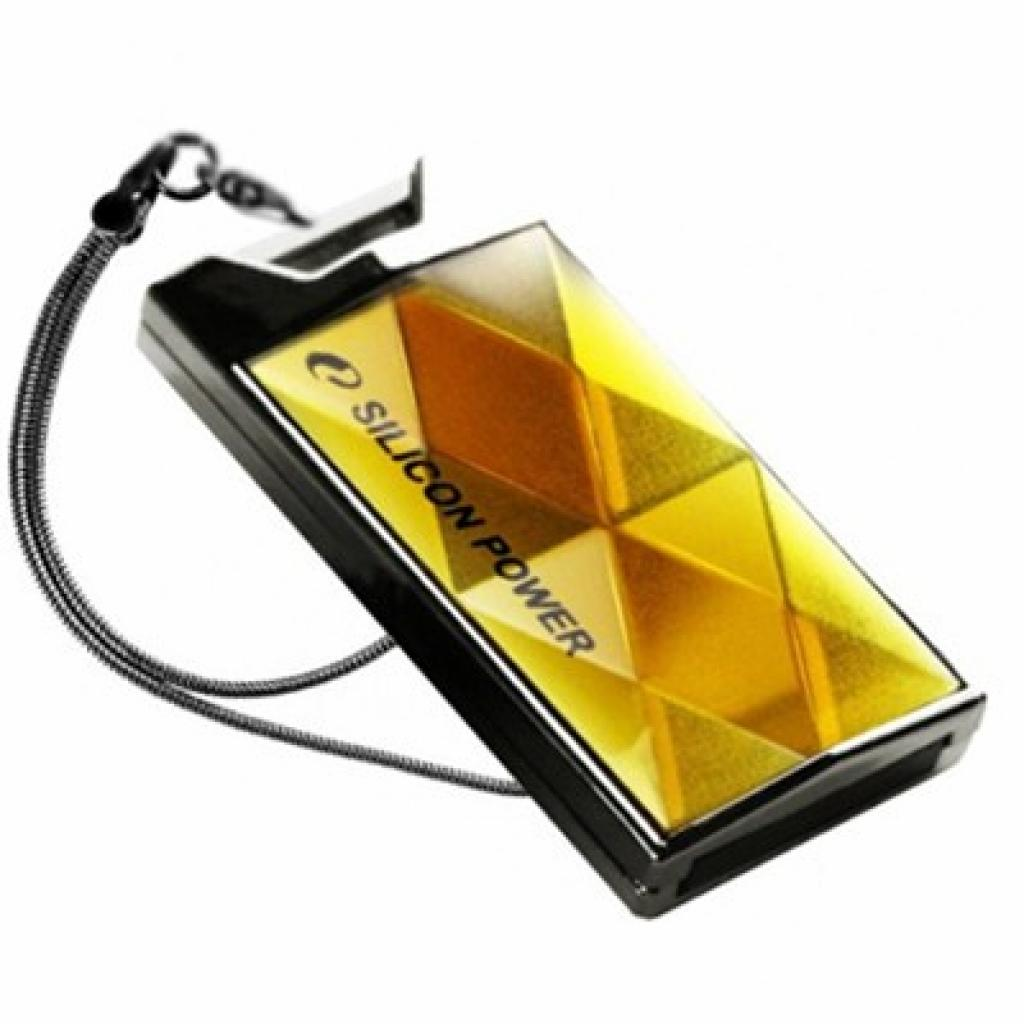 USB флеш накопитель Silicon Power 16Gb Touch 850 amber (SP016GBUF2850V1A)