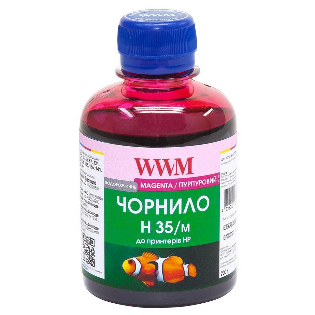 Чернила WWM HP № 22/121/134/135/136/141 magenta (H35/M)