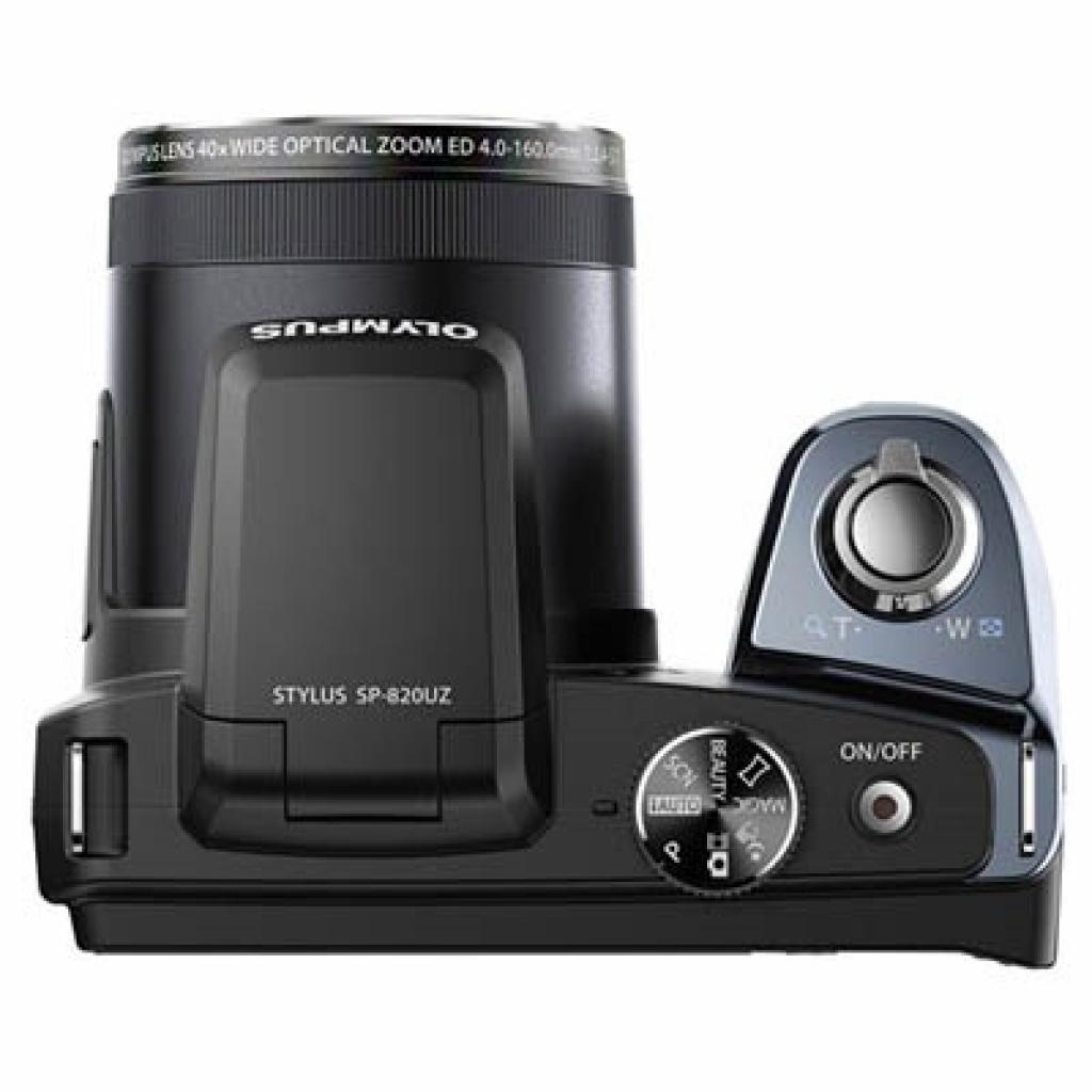 Цифровой фотоаппарат OLYMPUS SP-820UZ black (V103050BE000) изображение 3