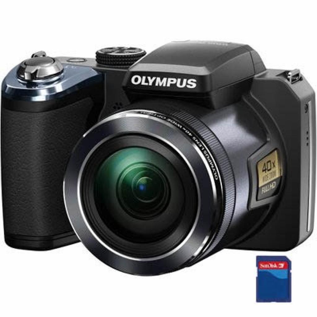 Цифровой фотоаппарат OLYMPUS SP-820UZ black (V103050BE000)