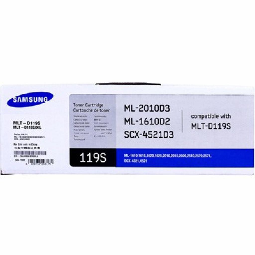 Картридж Samsung ML-1610/1615/2010/2510/2570, SCX-4321/4521 (MLT-D119S)