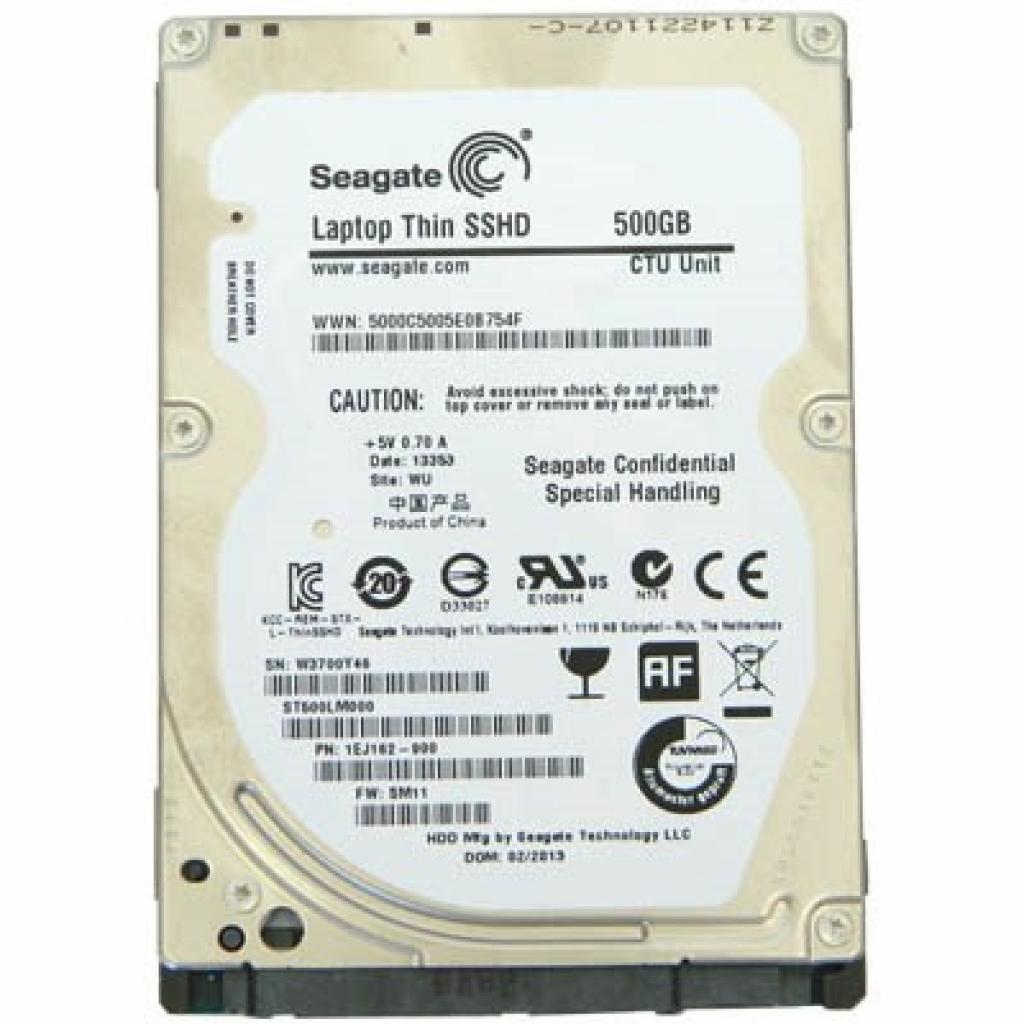 """Жесткий диск для ноутбука 2.5"""" 500GB Seagate (ST500LM000)"""
