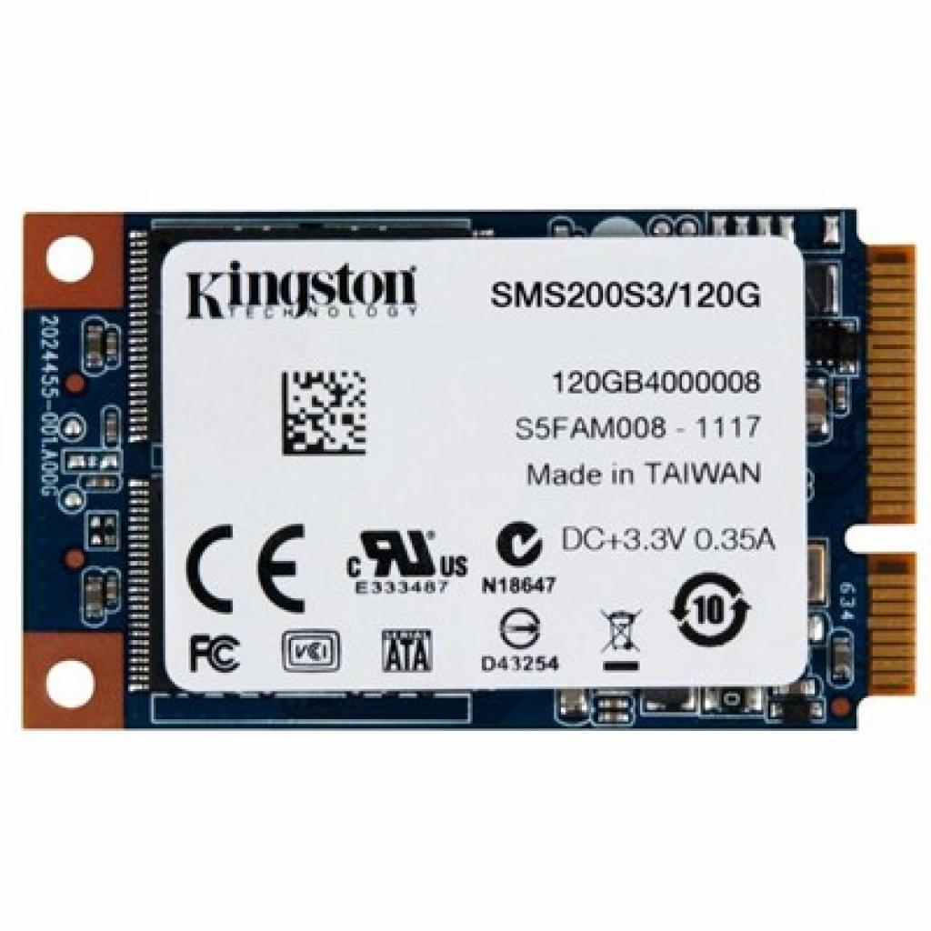 Накопитель SSD mSATA 120GB Kingston (SMS200S3/120G)