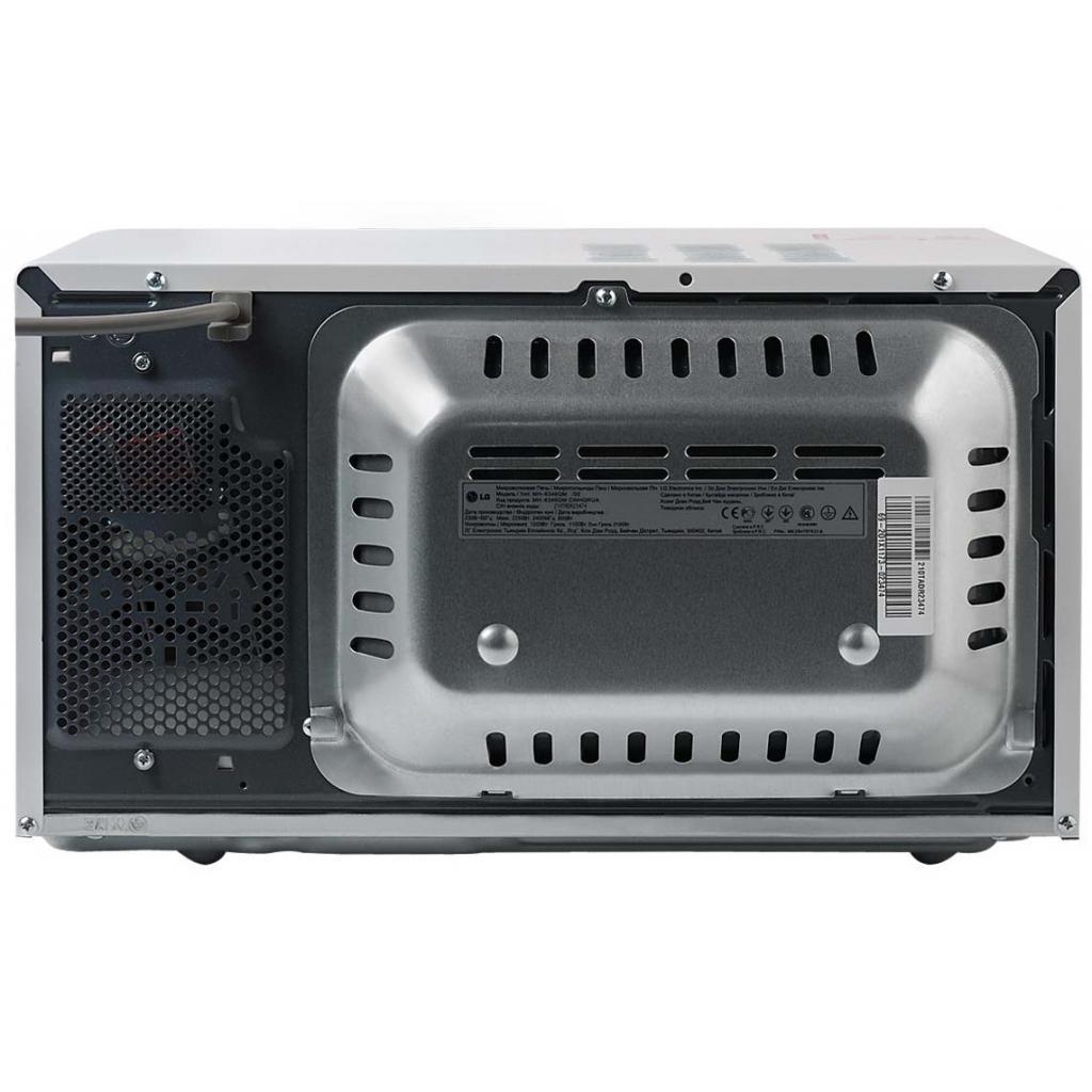 Микроволновая печь LG MH-6346QM (MH6346QM) изображение 4