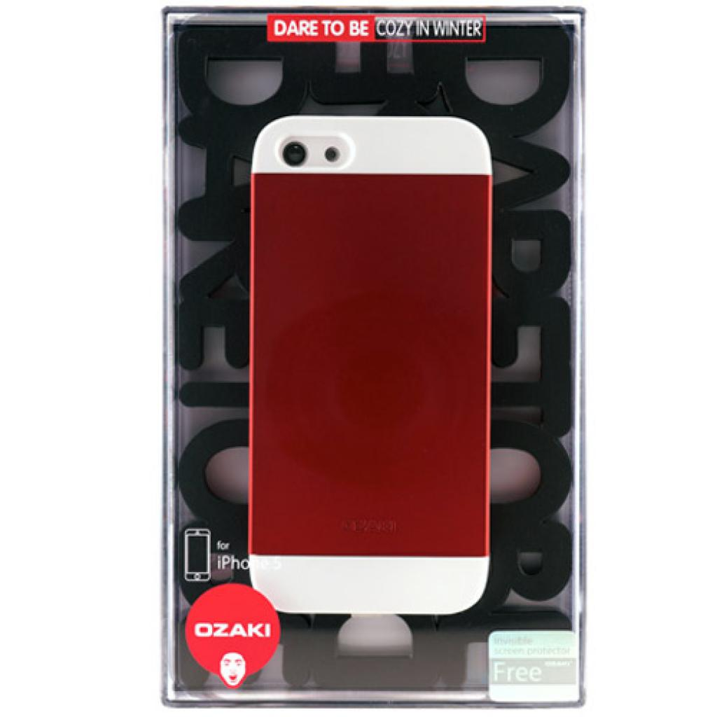 Чехол для моб. телефона OZAKI iPhone 5/5S O!coat wardrobe+ White/Red/White (OC549WH/RD/WH) изображение 3