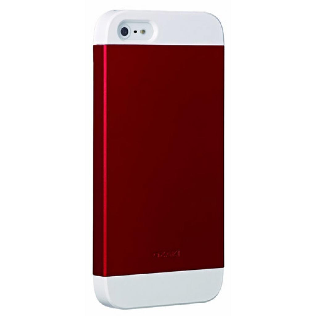Чехол для моб. телефона OZAKI iPhone 5/5S O!coat wardrobe+ White/Red/White (OC549WH/RD/WH)