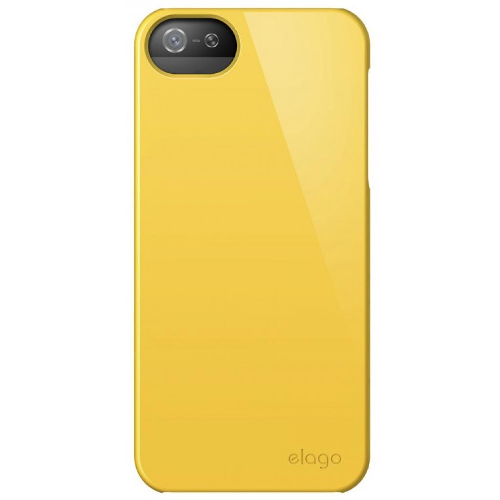 Чехол для моб. телефона ELAGO для iPhone 5 /Slim Fit 2 Glossy/Sport Yellow (ELS5SM2-UVYE-RT) изображение 3