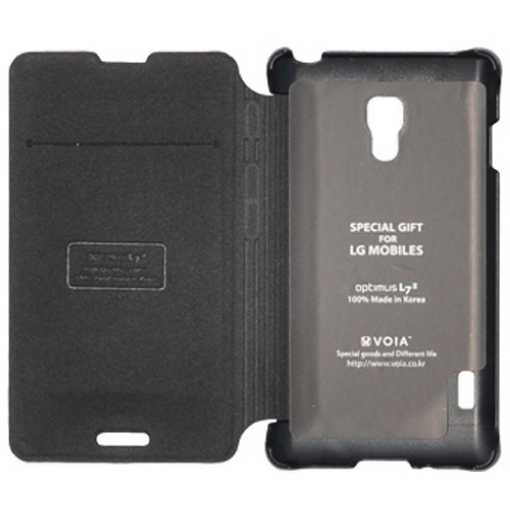 Чехол для моб. телефона VOIA для LG P713 Optimus L7II /Flip/Black (6068240) изображение 2