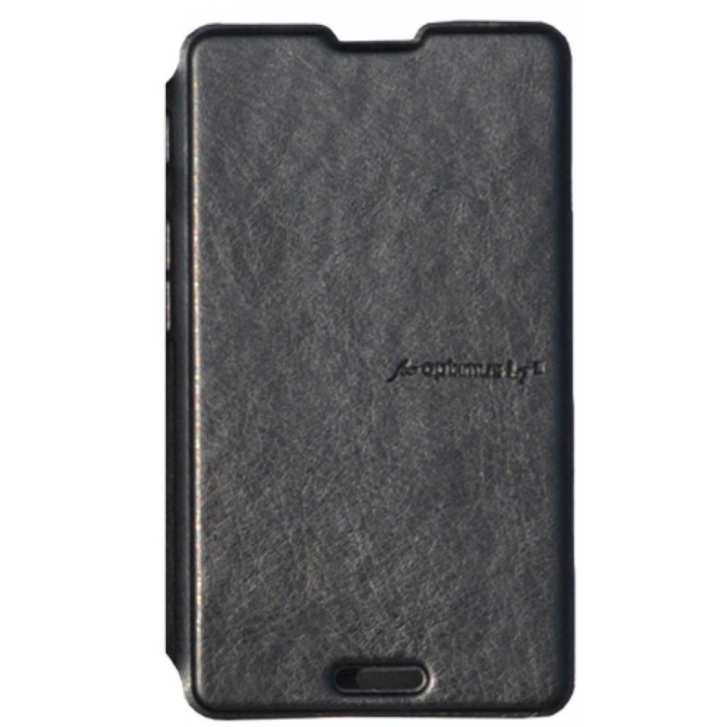Чехол для моб. телефона VOIA для LG P713 Optimus L7II /Flip/Black (6068240) изображение 3