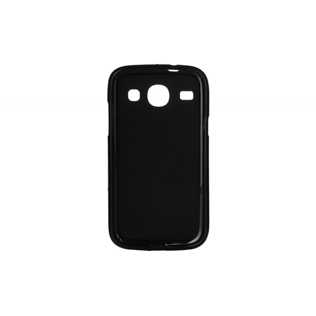 Чехол для моб. телефона для Samsung Galaxy Core I8262 (Black) Elastic PU Drobak (218987) изображение 2