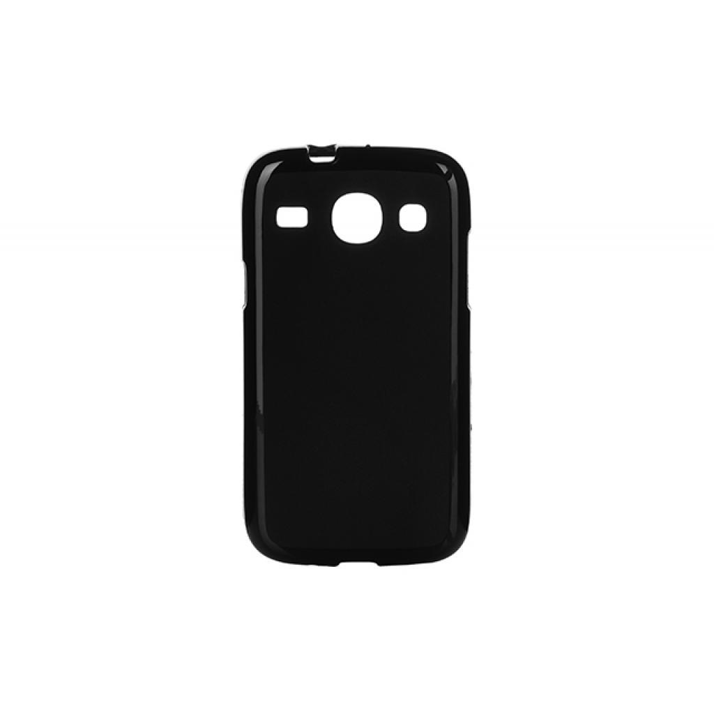 Чехол для моб. телефона для Samsung Galaxy Core I8262 (Black) Elastic PU Drobak (218987)