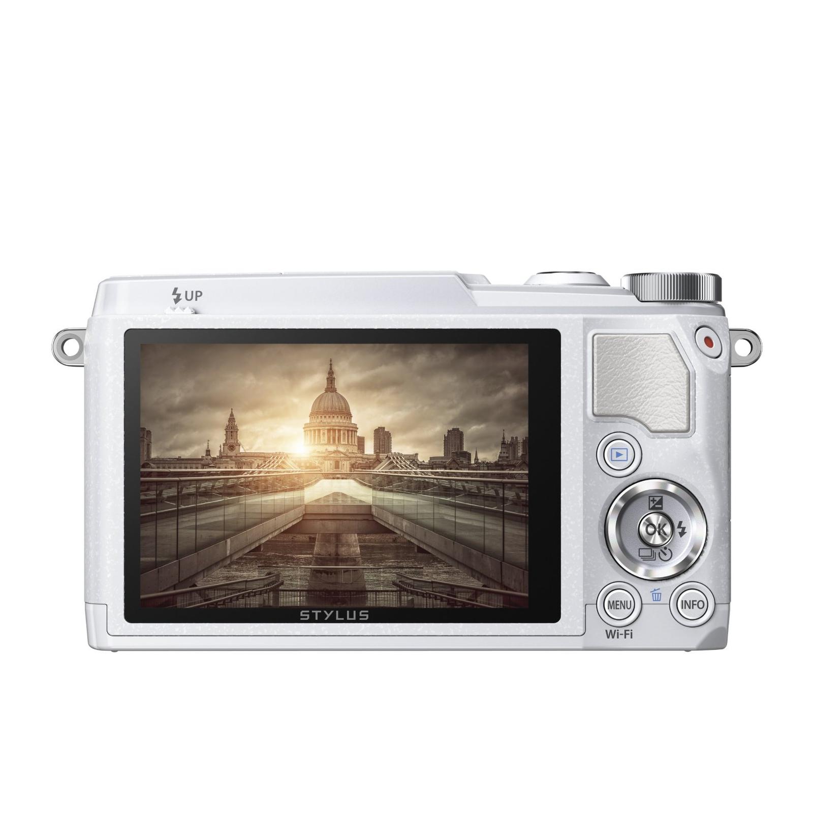 Цифровой фотоаппарат OLYMPUS SH-1 White (V107080WE000) изображение 4