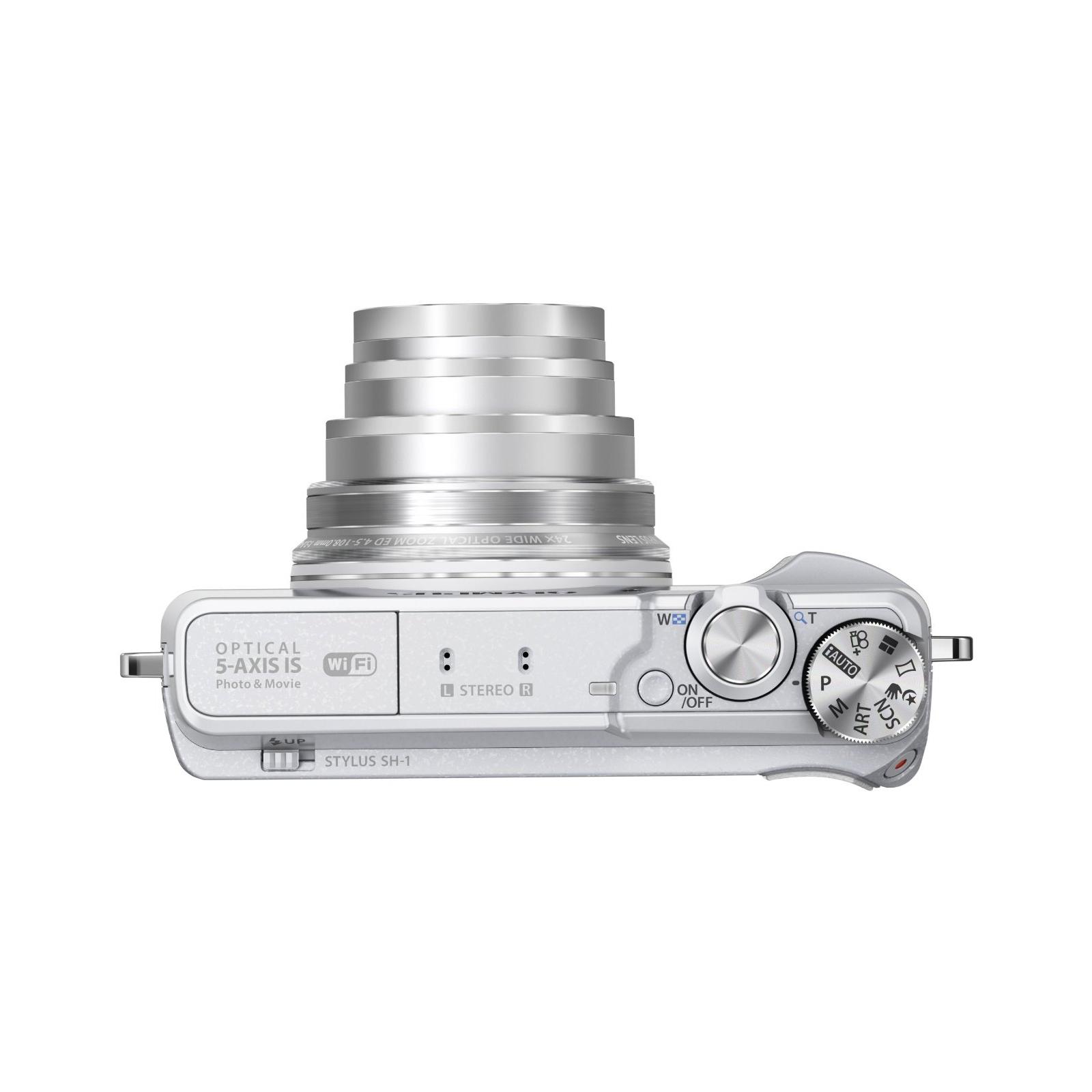 Цифровой фотоаппарат OLYMPUS SH-1 White (V107080WE000) изображение 5