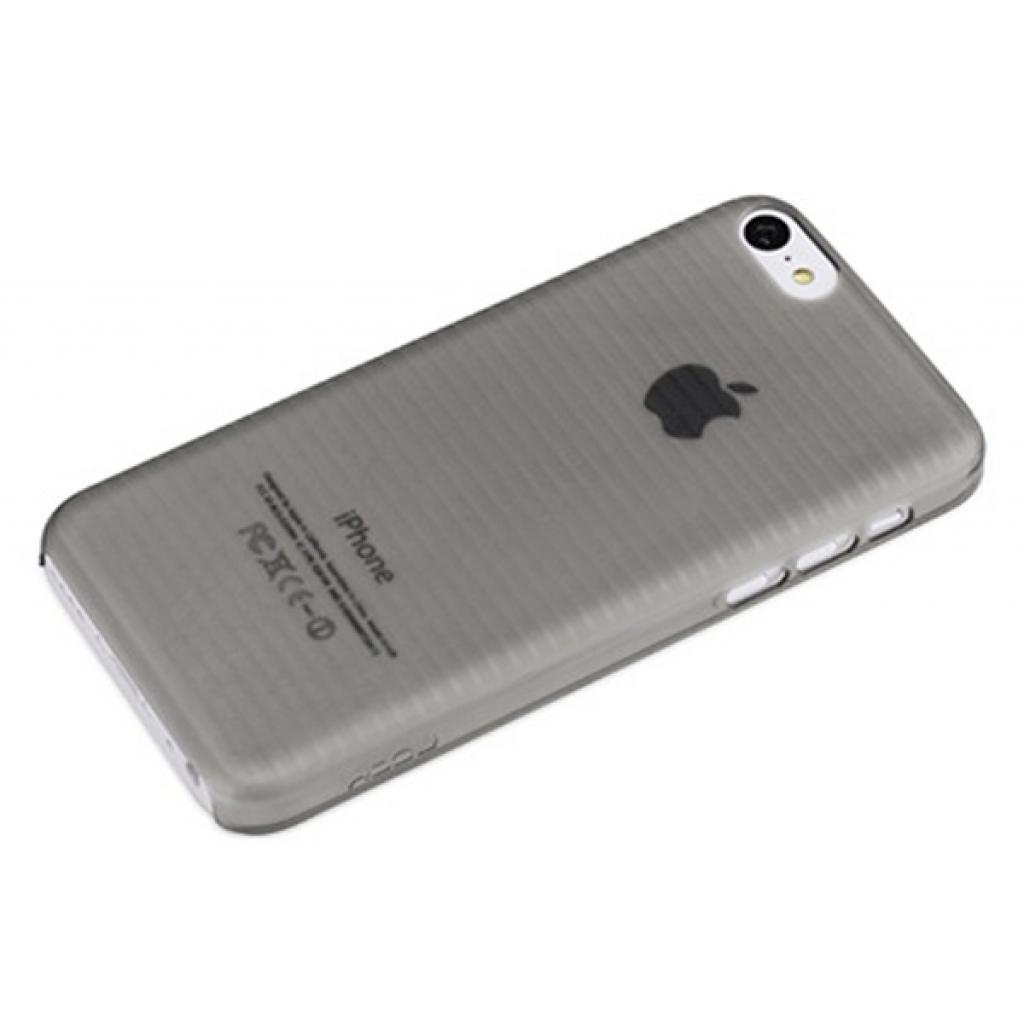 Чехол для моб. телефона Rock iPhone 5C Texture series ultra thin protective shell black (iPhone 5C-56415)