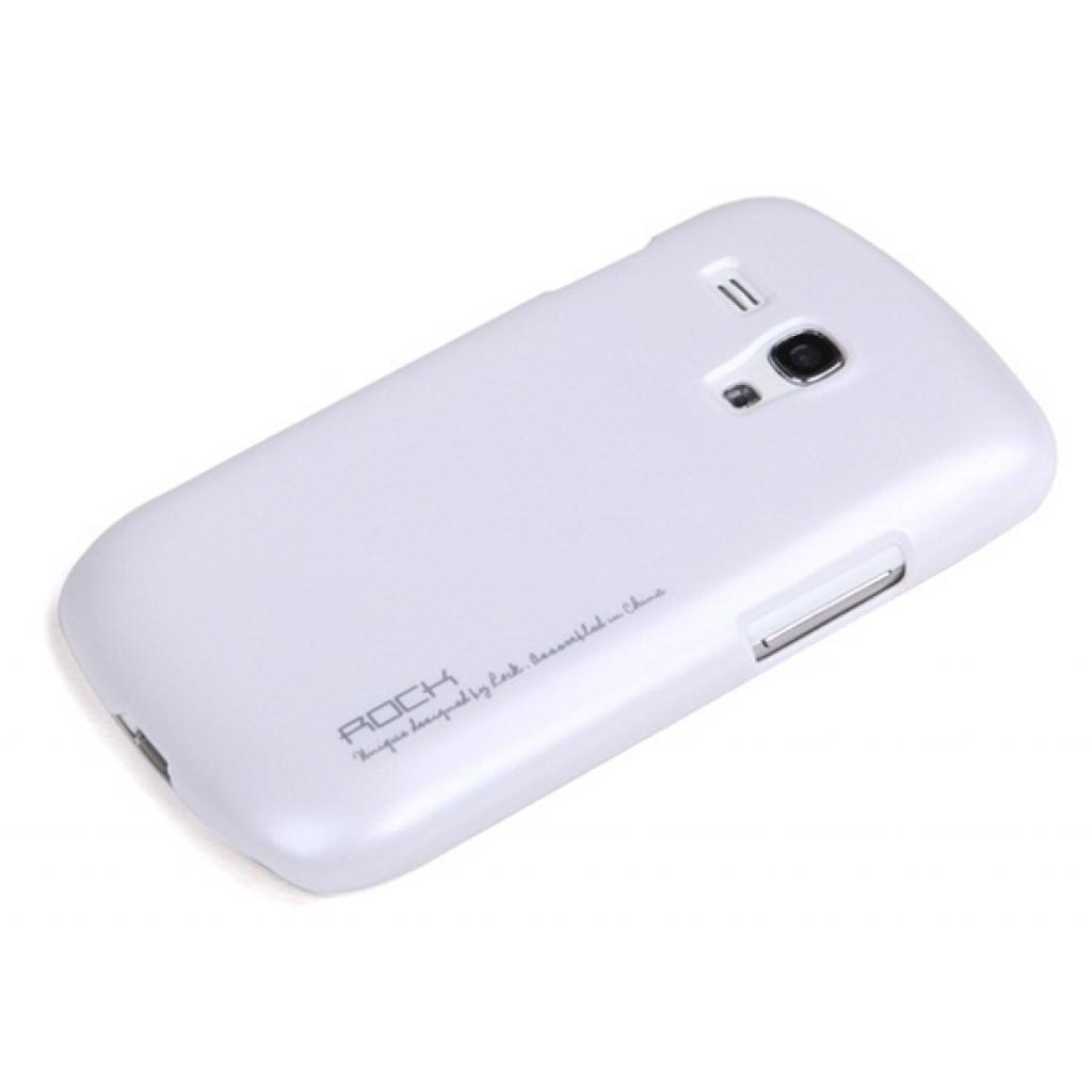 Чехол для моб. телефона Rock Samsung Galaxy S Mini I8190 New naked shell series white (SS I8190-44740)