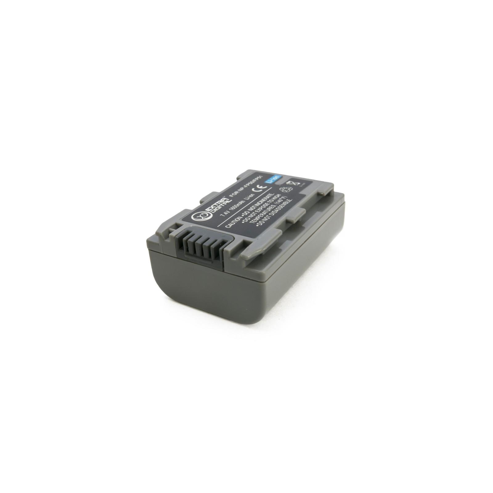 Аккумулятор к фото/видео EXTRADIGITAL Sony NP-FP50 (BDS2667) изображение 4