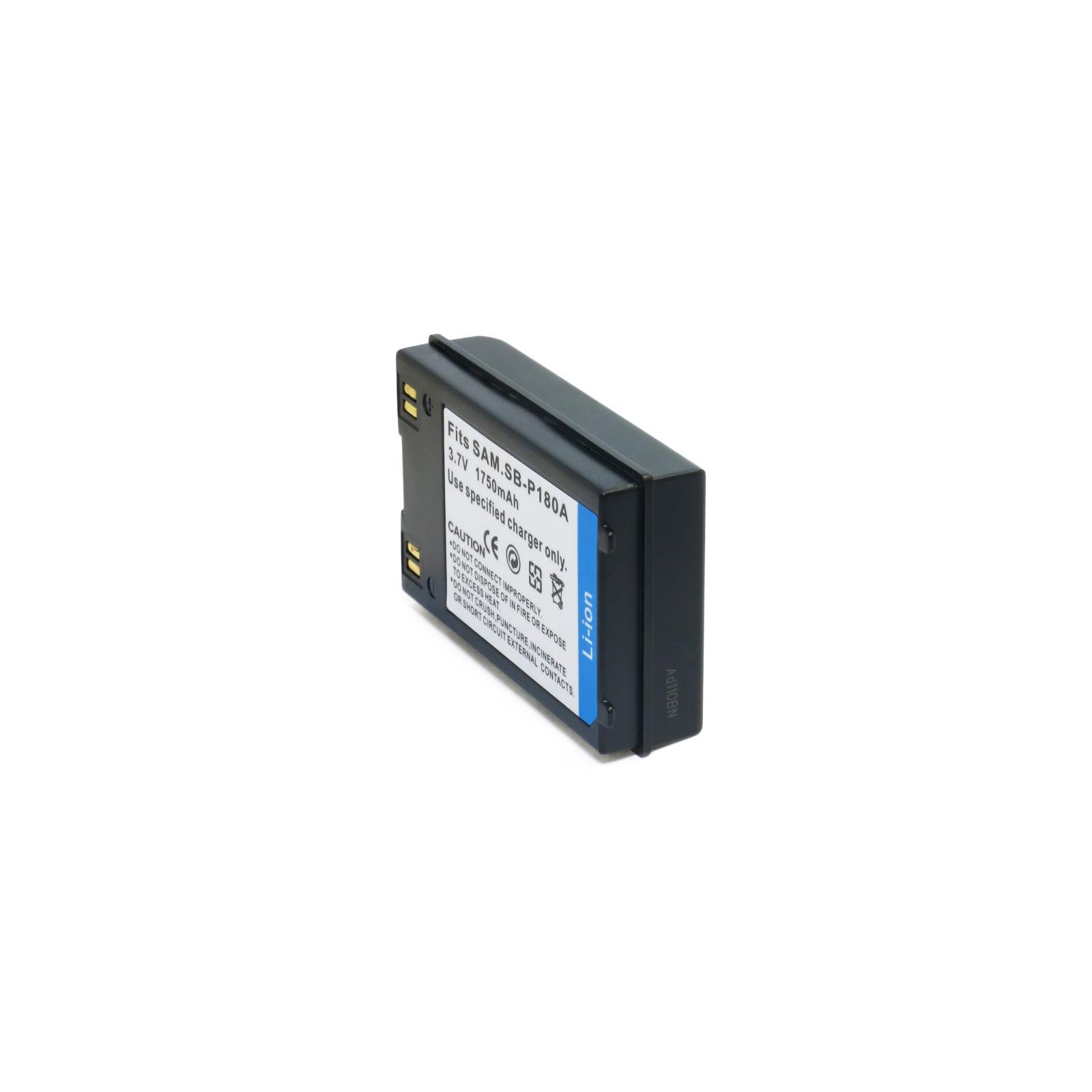 Аккумулятор к фото/видео EXTRADIGITAL Samsung SB-P180A (DV00DV1237) изображение 2