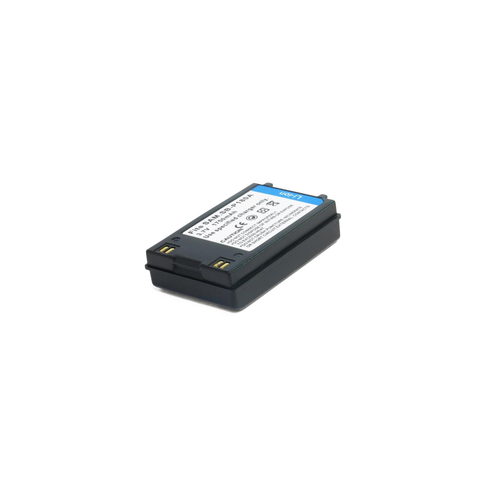 Аккумулятор к фото/видео EXTRADIGITAL Samsung SB-P180A (DV00DV1237) изображение 3