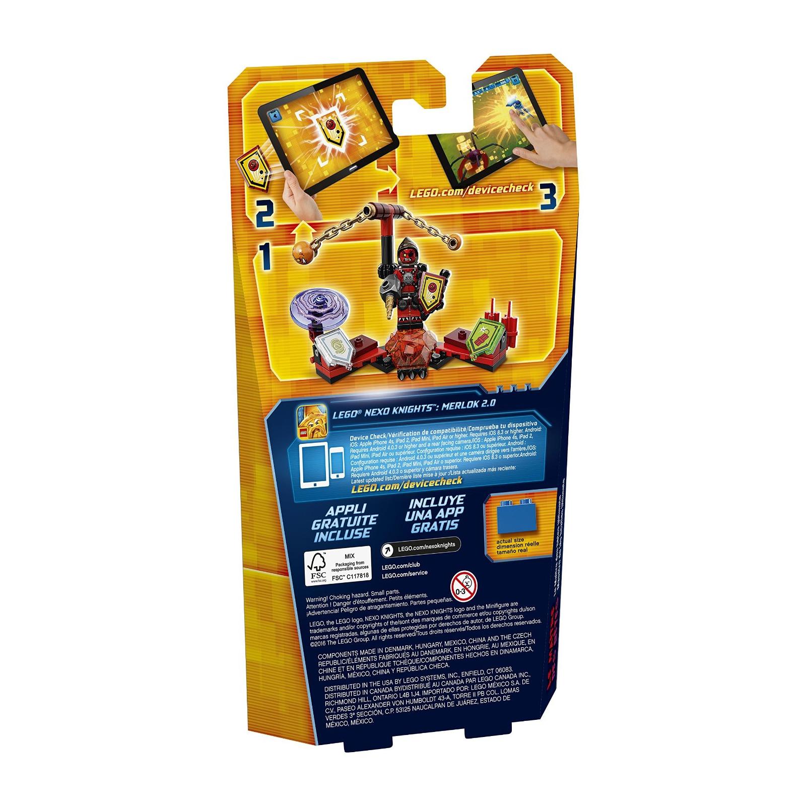 Конструктор LEGO Nexo Knights Предводитель монстров Абсолютная сила (70334) изображение 10